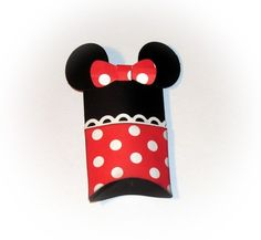 Minnie Mouse Pillow Treat Box Birthday Party Gift Favor Set of 12