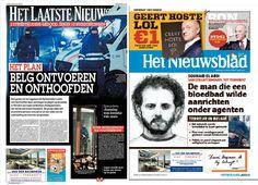 Vergelijking berichtgeving in kranten over terreur