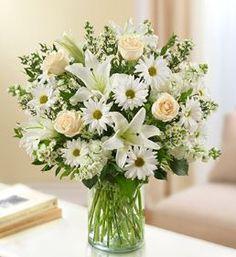 Sincerest Wishes White Arrangement