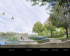 Gallery - National Mall Winning Design Proposal for Constitution Gardens / Rogers Marvel Architects + PWP Landscape Architecture - 24
