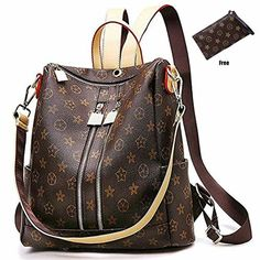 95758ea8af1 Casual Purse Fashion School Leather Backpack Crossbady Shoulder Bag Mini  Backpack out of 5 stars via 111 view(s) ZUNIYAMAMA brand