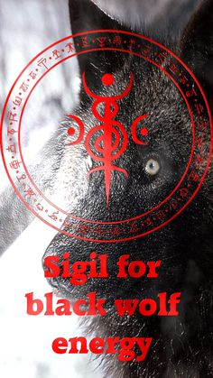 I saw your wolf magick stuff and the place where you put the sigils for them, I cannot find the Black Wolf sigil! Wiccan Symbols, Magic Symbols, Viking Symbols, Viking Runes, Ancient Symbols, Egyptian Symbols, Wiccan Spell Book, Wiccan Spells, Norse Tattoo