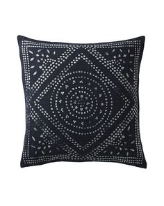 Camille Diamond Medallion Pillow Cover - Serena & Lily