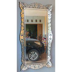 Venetian Mirror Rosea MG 002060 Distressed Mirror, Surakarta, Vertical Or Horizontal, Venetian Mirrors, Oversized Mirror, Wall Mirror, Glass, King, Style