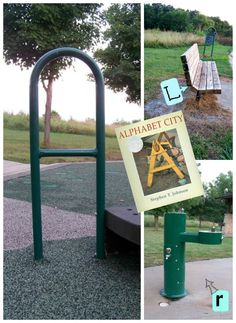 Enjoy an ABC hunt at the park with this fun and educational scavenger hunt and book!