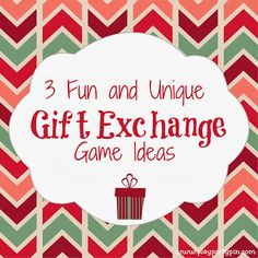 3 Fun and Unique Gift Exchange Ideas - Play. Party. Pin.