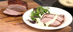 Paahdettu possunkylki Steak, Menu, Food, Menu Board Design, Essen, Steaks, Meals, Yemek, Eten