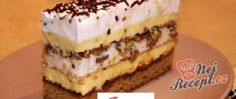 Recept Famózní ALEXANDRA řezy Russian Cakes, Russian Desserts, Russian Recipes, Sweet Recipes, Whole Food Recipes, Cake Recipes, Köstliche Desserts, Delicious Desserts, Easy Cake Decorating
