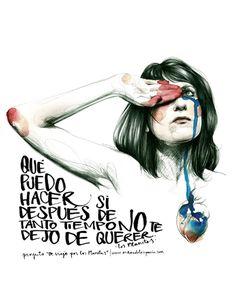 Paula Bonet illustration, inspired by Los Planetas lyrics Paula Bonet, Ghost In The Machine, Illustration Girl, Watercolor Illustration, Watercolour, Illustrations Posters, New Art, Art Girl, Illustrators