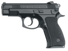 CZ 75 D PCR COMPACT cal. 9 mm Luger alloy frame decocker black polycoat 14 RD Mags