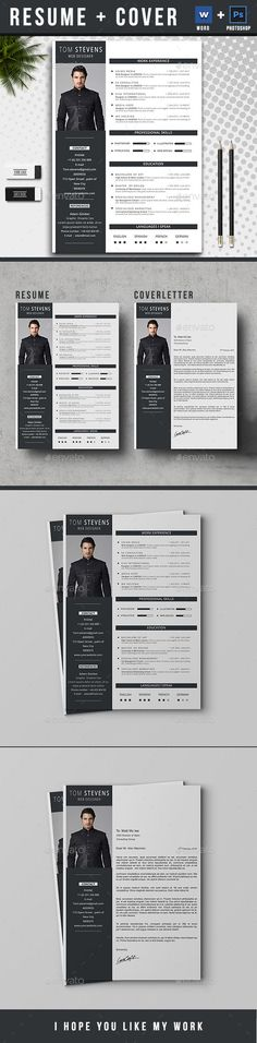 Free msword resume and cv template collateral design resume by logotex resume resume is the super clean modern and professional resume cv template to help you land that great job the flexible page de pronofoot35fo Choice Image