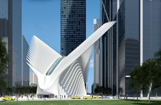 World Trade Center Transportation Hub / New York (Gallery) - Santiago Calatrava – Architects & Engineers