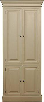 edwardian style four door bookcase cupboard