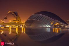 30 Things to do and places to see in Valencia - The City of Arts and Sciences  © Travelers Universe