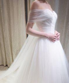 Off the Shoulder Wrap Sweatheart Wedding by WeekendWeddingDress