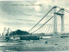 Colección de fotografías antiguas de Zaragoza, en el año 1908 - Noticiasdehumor.com Brooklyn Bridge, Travel, Zaragoza, Old Photography, Cities, Pictures, Viajes, Destinations, Traveling