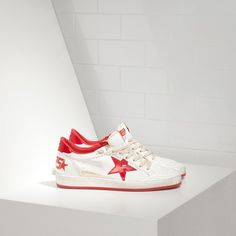 Golden Goose Ballstar Sneakers In Leather With Leather Star Men - Golden Goose / GGDB #ggdb #sneakers #leather #fashion #men #streetstyle