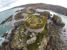 Fort Clonque, Alderney Channel Islands Uk, English Castles, Guernsey, Lighthouse, Countryside, The Good Place, Medieval, Explore, Wallpaper