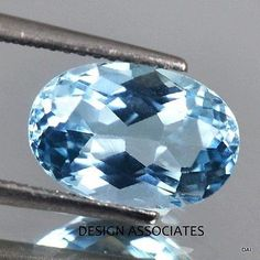 Aquamarine 10200: Aquamarine 16X14 Mm Oval Cut Outstanding Blue Color All Natural BUY IT NOW ONLY: $259.99