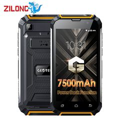 Geotel G1 7500mAh Big Battery Mobile Phone 5.0 Inch HD MTK6580A Quad Core Android 7.0 2GB RAM 16GB ROM 8MP Power Bank Smartphone  Price: 148.49 & FREE Shipping  #cheapproducts