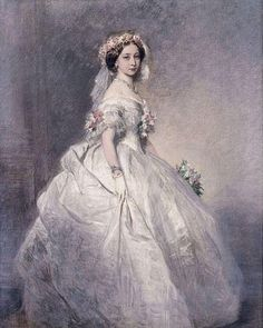 Her Royal Highness The Grand Duchess of Hesse and by Rhine (1843-1878) née Her Royal Highness The Princess Alice Of Great Britain