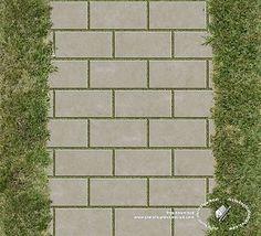 Textures Texture seamless | Concrete park paving texture seamless 18700 | Textures - ARCHITECTURE - PAVING OUTDOOR - Parks Paving | Sketchuptexture