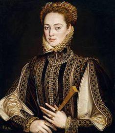 A Lady, ca. 1570-1573 (Alonso Sánchez Coello) (1581-1588)   Museo Nacional del Prado, Madrid   P01142
