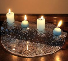 Vintage Muurla Crystal Candleholder Finland by MillyCatVintage