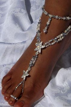 Beach Wedding Shoes That Inspire ❤ See more: http://www.weddingforward.com/beach-wedding-shoes/ #weddings