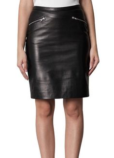 Check this beautiful leather skirt for women by Hides & Fur
