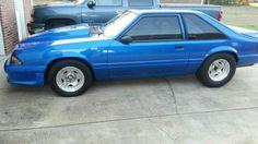 Fox Mustang, Blue Mustang, Mustang Cars, Dream Machine, Mustangs, Muscle Cars, Dream Cars, Ford, Sports