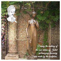 Durante la realizzazione della nuova statua di Giulietta è emersa una incredibile scoperta. @julietsecrets #julietsecrets #casadigiulietta #juliethouse