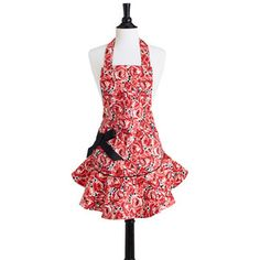 Red Rose Apron, $22, now featured on Fab.