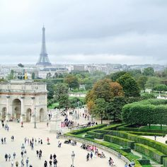 View from the #Louvre this afternoon was pretty  #Paris #travel