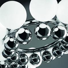 24 Pearls suspension light designed Romani Saccani Architetti Associati for Vistosi