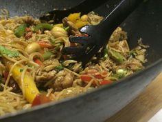 Chili cashew noodles Simply Asia recipe