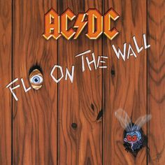 AC/DC - Fly on the wall - 1985 - animated album cover art by jbetcom. #gif