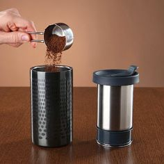 How cool it would be to brew your own coffee to go? No lines, no zillion $, just as you like it. And great design too!
