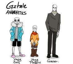 Early Anamnesis Skelefamily References by GolzyBlazey.deviantart.com on @DeviantArt