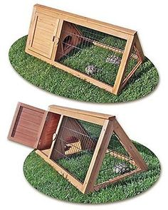 Outdoor Tortoise Pen Cage Turtle House Play Backyard Indoors Pets Animal Home