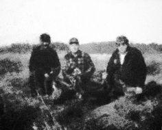 2008 polowanie 120x150 cm.  akryl/bawełna sygnowany