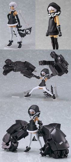 Strength figure from Black Rock Shooter anime.