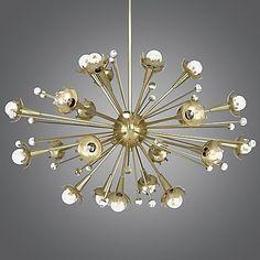 Sputnik Chandelier by Robert Abbey at Lumens.com