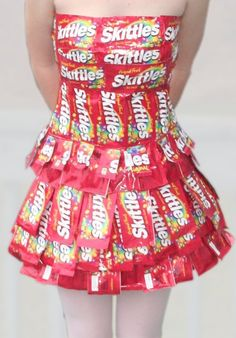 Finally found out what i can do with my skittle wrappers :D