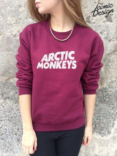 Arctic Monkeys Jumper Sweater Top Band Indie Rock Tumblr Fashion Hipster AM Sweatshirt on Etsy, $25.33