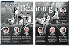 The Magnificent Seven, Sports Illustrated, Olympics, Atlanta, Success