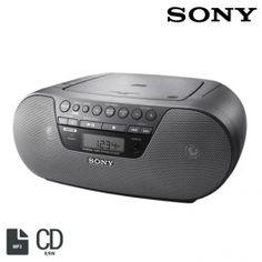 Radio CD Boombox Sony ZSS10CP