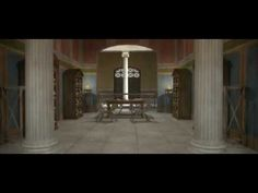 ▶ Teatro Marítimo, Villa Adriana 3d / Virtual Maritime Theatre, Hadrian's Villa - YouTube
