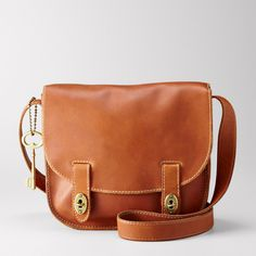 Just got this!  Fossil Austin Large Flap.  Now I need a cute puppy to carry around.