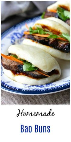 Steamed Bao Buns #bread #gyoza